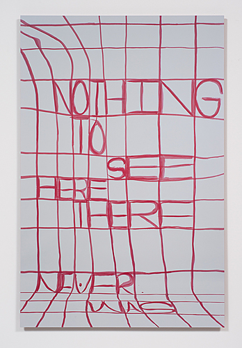 Nothing To See Here There Never Was (Grids #1 - #6), 2014